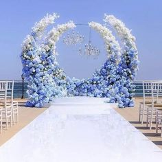 Do you want to make a wedding decoration more luxurious? Here we present the 40 Best Inspiring Wedding Decoration Ideas. May you inspire and make wedding decorations as you wish from this article. Wedding Altars, Wedding Ceremony, Wedding Venues, Wedding Arches, Ceremony Arch, Outdoor Ceremony, Wedding Mandap, Beach Ceremony, Wedding Sparklers