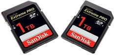 Western Digital Corporation, a global provider of storage technologies, announced SanDisk's first ever 1TB (Terabyte) storage capacity SDXC card at the world's leading trade fair for photo and video professionals – Photokina, Germany on September 20th, 2016.