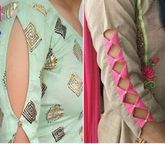 Neck Designs For Suits, Sleeves Designs For Dresses, Dress Neck Designs, Sleeve Designs, Chudi Neck Designs, Simple Kurta Designs, Kurta Designs Women, Stylish Blouse Design, Stylish Dress Designs