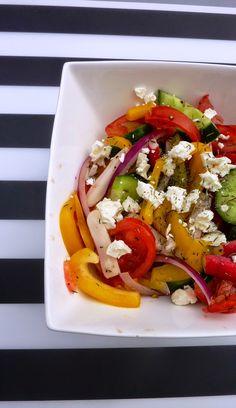 Blog de recettes Weight Watchers Propoint... Ou pas!: Salade de crudités - Weight Watchers Propoints