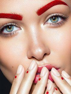 Creative Make-up by Vlada Haggerty | Inspiration Grid | Design Inspiration