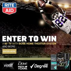 NCAA Rite Aid Sweepstakes + $20 Rite Aid Giveaway - Bullock's Buzz #Win the ultimate home entertainment system! Other prizes, too! http://bullocksbuzz.com/ncaa-rite-aid-sweepstakes-20-rite-aid-giveaway/