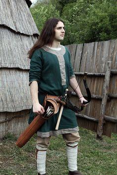 Young Lombard warrior (Arimanno)  By Fortebraccio Veregrense