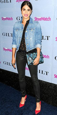 NIKKI REED | People StyleWatch Denim Awards party - love the look!
