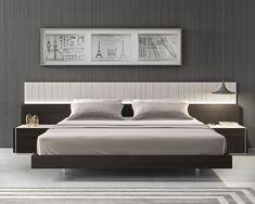uzun yatak basi modelleri ahsap metal aksesuarli basucu aydinlatmalar cekmece ve raflar (8)