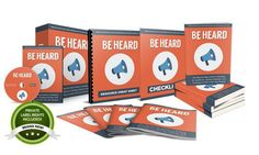 Be Heard PLR Package Review  The Step-By-Step System To Building An Audience Getting Attention and Creating Content That Gets Shared and Keep 100% of The Profits