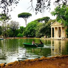 #mobilephotography #villaborghese #roma