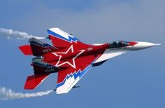 MIG 29 Military Airplane