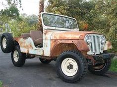 Jeep like from the movie Hatari