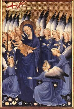 Unknown Master, French Virgin and Child with Angels 1395