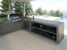 Industrial style kitchen with a rusted effect. Trendy countertops with the #COVERLAMTop Lava Iron series. Cocinas de estilo industrial con efecto óxido. Encimeras modernas con la serie #COVERLAMTop Lava Iron.