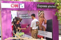 CNN Road show at Bangalore
