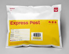 Domestic Parcels designed by Interbrand