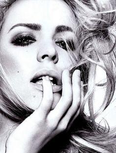 rachel mcadams blonde photo shoot | Rachel McAdams: Alluring For Vogue Italia December 2010