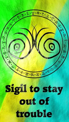 Wolf Of Antimony Occultism — Sigil to stay out of trouble requested by. Magick Book, Magick Spells, Wicca Witchcraft, Luck Spells, Wiccan Witch, Wiccan Symbols, Magic Symbols, Ancient Symbols, Viking Symbols
