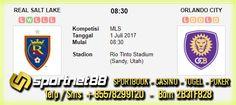 Prediksi Skor Bola Real Salt Lake vs Orlando City 1 Jul 2017 MLS di Rio Tinto Stadium (Sandy, Utah) pada hari Sabtu jam 08:30 live di beIn Sport 3