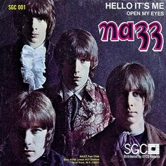 Nazz - Hello It's Me (Very Rare Single w. Picture Sleeve US 1968)  Early Todd Rundgren-68