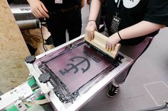 We took our showroom down to Birmingham Design Festival, as well as giving you the chance to screen print a bag! Design Festival, Birmingham, Showroom, Screen Printing, Events, Bag, Home Decor, Screen Printing Press, Purse