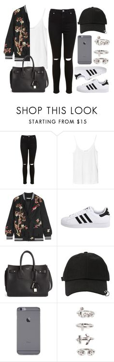 """Sin título #12647"" by vany-alvarado ❤ liked on Polyvore featuring Miss Selfridge, Zara, Alice + Olivia, adidas Originals, Yves Saint Laurent, StyleNanda and NLY Trend"