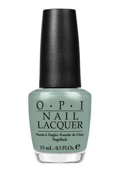 Get gorgeous 2013 nails with this muted mint green OPI nail polish. Hey Mer, think I need this:)