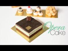 Creating Dollhouse Miniatures: Opera Cake : French Pastries & Desserts Episode # 2 tutorial by Toni Ellison