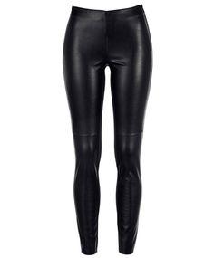Gina Tricot - Cissi leggings Gina Tricot, Leggings, Leather Pants, Underwear, Bikinis, Sexy, Clothes, Fall, Fashion