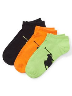 Low-Profile Sock 3-Pack - Polo Ralph Lauren Athletic - RalphLauren.com
