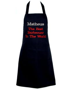 Best Barbecuer In World Apron Custom Birthday Gift Grill Apron, Chef Apron, Barbecue Grill, Etsy Shop, Sewing Studio, Grandma Gifts, Customized Gifts, I Shop, Birthday Gifts