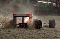 Ayrton Senna - McLaren MP4/5 (Honda) - 1989 - British Grand Prix