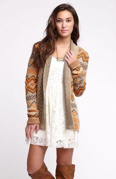 Rip Curl Explorer Cardigan Sweater- Pacsun <3