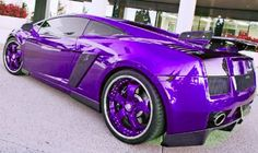 My Dream Car Purple Baby