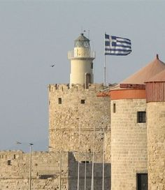 Agios Nikolaos Lighthouse, Rhodes Island, Greece / October 2007 / Flickr Creative Commons photo by Yehuda Cohen