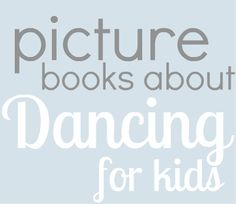 Books about dancing