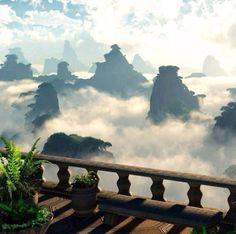 Wow. Zhangjiaji national park, China.