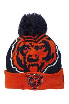 Chicago Bears Logo Whiz 2 Beanie