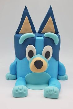 Sweet Birthday Cake, Themed Birthday Cakes, Blue Birthday, Dog Birthday, 3rd Birthday Parties, Birthday Bash, Birthday Ideas, Bingo Cake, Lolly Cake