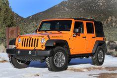 2013 Jeep Wrangler Unlimited Rubicon: I LOVE ME MY ORANGE