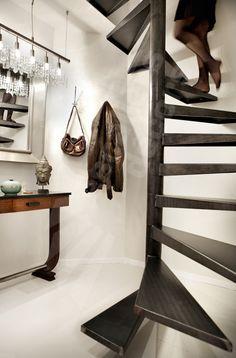 Dh99 spir 39 d co flamme escalier balanc d 39 int rieur - Appartement de standing burgos design ...