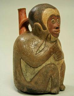 Monkey+Bottle+Peru,+Nazca+Culture.jpg (864×1128)