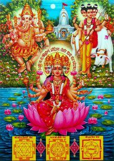 Shree ganesh,datta and gaytri devi Om Namah Shivaya, Gayatri Devi, Gayatri Mantra, Shri Yantra, Lakshmi Images, Shiva Lord Wallpapers, Shree Ganesh, Lord Murugan, Hindu Mantras