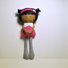 My Teeny Tiny Doll Amelia.  this woman makes the cutest dolls i have ever seen!!