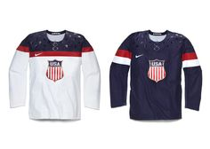 Nike Unveils the 2014 USA Olympic Hockey Jersey -- what do you think?