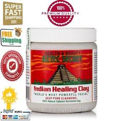 Aztec-Secret-Indian-Healing-Clay-Detox-Deep-Skin-Cleansing-1lb-Fast-Shipping
