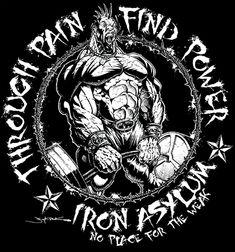 Through Pain Find Power