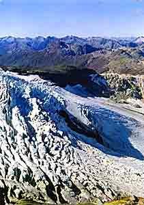 Cerro Tronador y  Glaciares por  Lago Mascardi