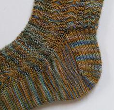 Little Tent Socks free pattern