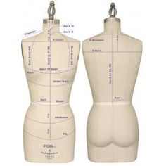 measuring for a dress form