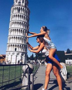 Travel goal. BFF. Vacation. Best shot. Happiness. Crazy. Cute. Friendship goal. I love my bestfriend. Best travel location. Europe.