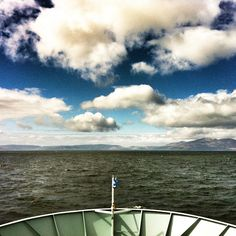 @thechaoticscot on ferry to the Scottish Island of Arran