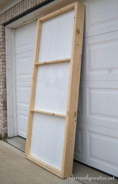 creating hidden storage door